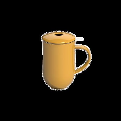 Pro Tea 450ml Mug with Infuser & Lid - Yellow