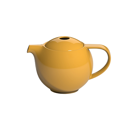 Pro Tea 600ml Teapot with Infuser - Yellow