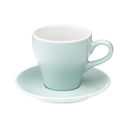 Tulip 280 ml Latte Cup and Saucer