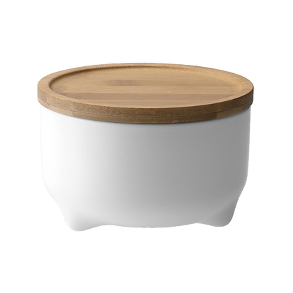 Storage Jar With Bamboo Lid 900ml