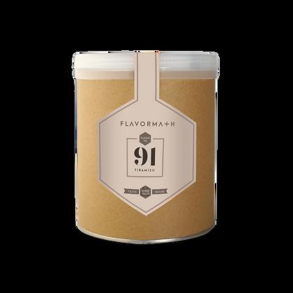 Flavormath No. 91 Tiramisu