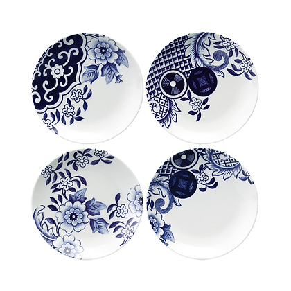 Willow Love Story Set of 4 15cm Side Plate