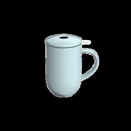 Pro Tea 450ml Mug with Infuser & Lid - River Blue