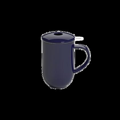 Pro Tea 450ml Mug with Infuser & Lid - Denim