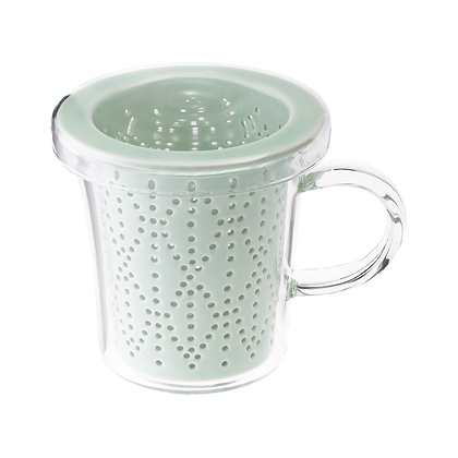 Weave 300ml Mug with Porcelain Infuser - Celadon