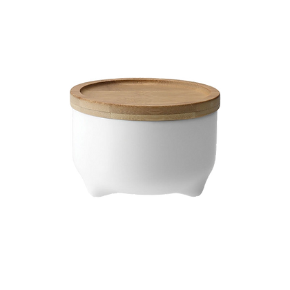Tripod 320ml Storage Jar with Bamboo Lid (Small)