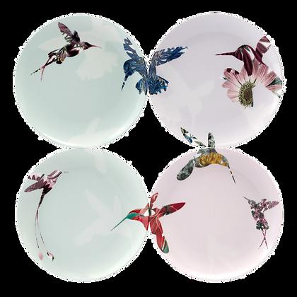 Flutter Set of 4 20.50cm Salad Plate