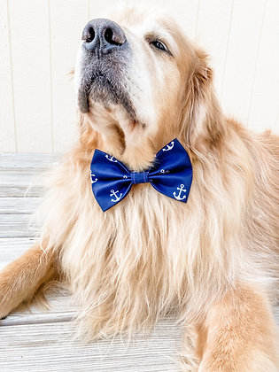 THE ANCHORS BOW TIE