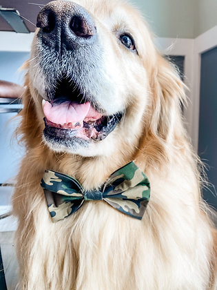 THE CAMO BOW TIE
