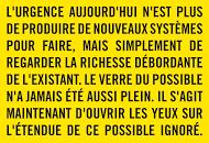 Manifeste du possible ignoré par Patrick Bouchain - rencontres 2016