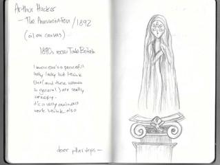 Drawing, Tate Britain (part 1)