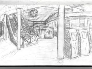 Drawing at Waterloo