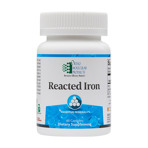 Reacted Iron  (limit 5)