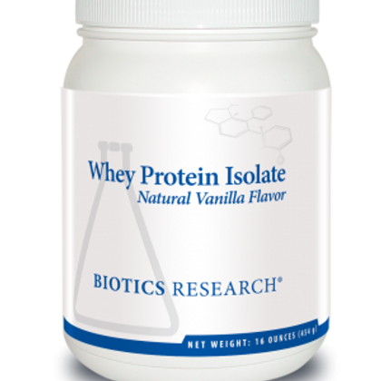 Biotics Research Whey Protein Isolate - Vanilla (limit 5)