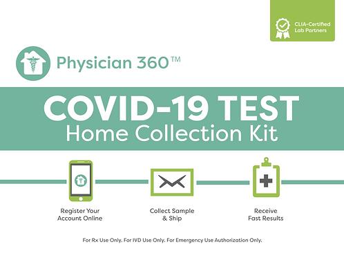 Home COVID-19 SalivaPCR Test