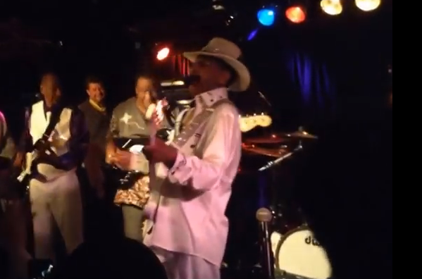 Jamming with Larry Graham - 2014
