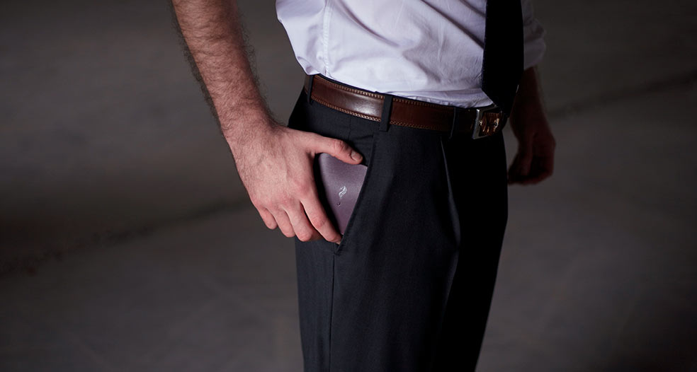George bifold wallet