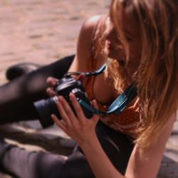 Diana's Camera strap