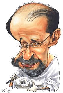 Xavier caricaturista e ilustrador para publicações editoriais