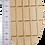 Thumbnail: Holzklotz, 11 cm gerade, 100er Pack