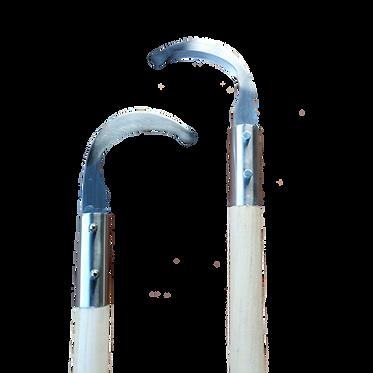 Bandagenentferner mit gebogener Edelstahl-Klinge, 63cm