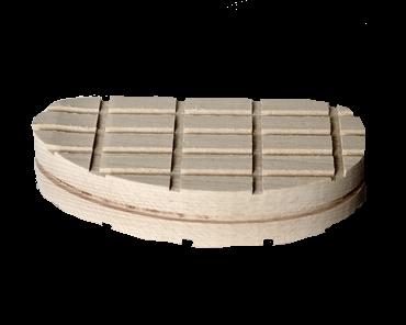 Holzklotz, 13 cm gerade, einzeln