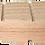 Thumbnail: Holzklotz, 13 cm abgeschrägt, einzeln
