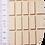 Thumbnail: Holzklotz, 13 cm gerade, einzeln