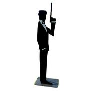 James Bond spy inspired 6ft props