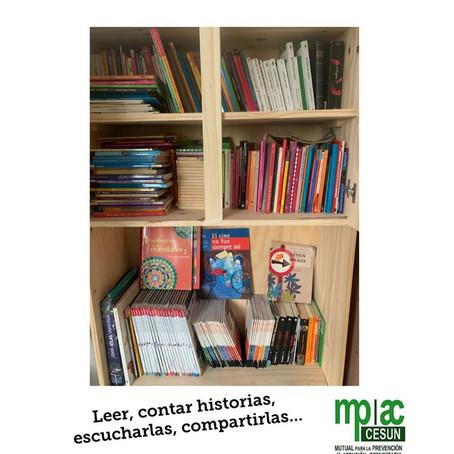 Leer, contar historias, escucharlas, compartirlas!!!!