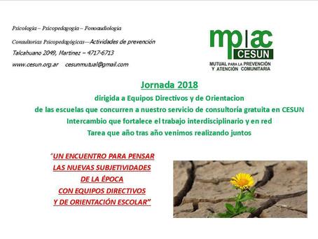 Jornada 2018