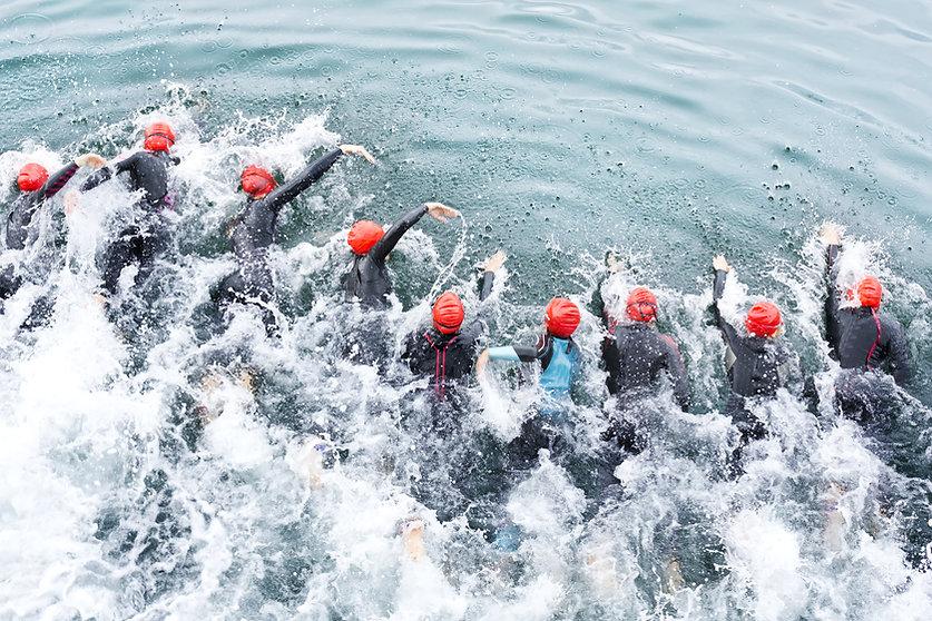 Triatholon Nuotatori