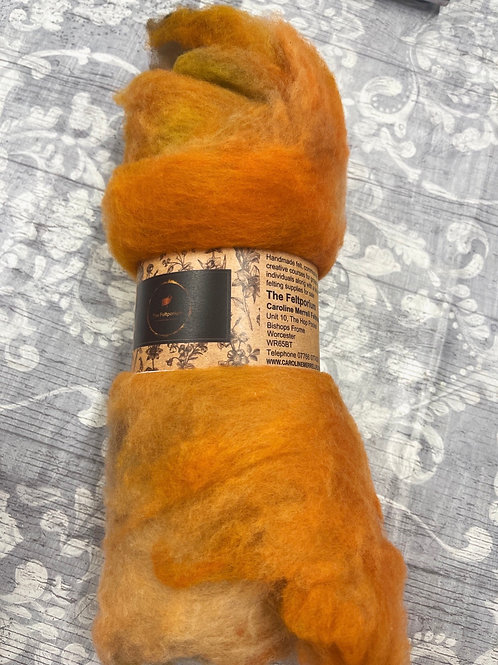 DHG Extrafine Merino Batts - Hand Dyed