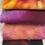Thumbnail: Pre Felt Hand Dyed x 4 pieces - 017