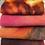 Thumbnail: Pre Felt Hand Dyed x 4 pieces - 018