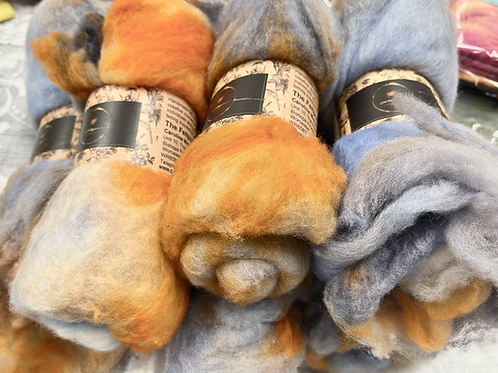 DHG Extrafine Merino Batts - Hand Dyed