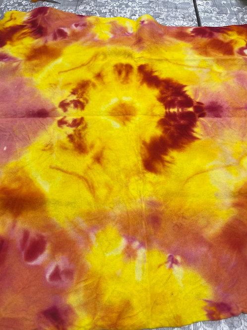 Hand dyed Merino Pre felt 100 cm x 100 cm