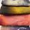 Thumbnail: Pre Felt Hand Dyed x 4 pieces - 007