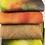 Thumbnail: Pre Felt Hand Dyed x 4 pieces - 011