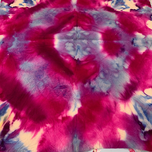 Hand dyed Merino Prefelt