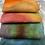 Thumbnail: Pre Felt Hand Dyed x 4 pieces - 035