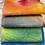 Thumbnail: Pre Felt Hand Dyed x 4 pieces - 016