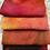 Thumbnail: Pre Felt Hand Dyed x 4 pieces - 019