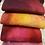 Thumbnail: Pre Felt Hand Dyed x 4 pieces - 002