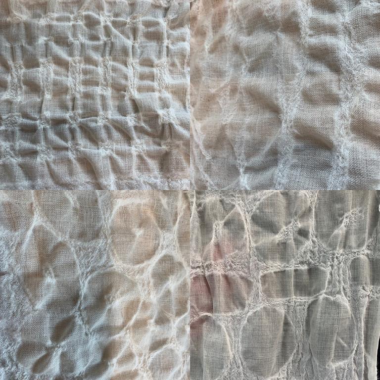 Resist Paste, Wool Gauze, Felting
