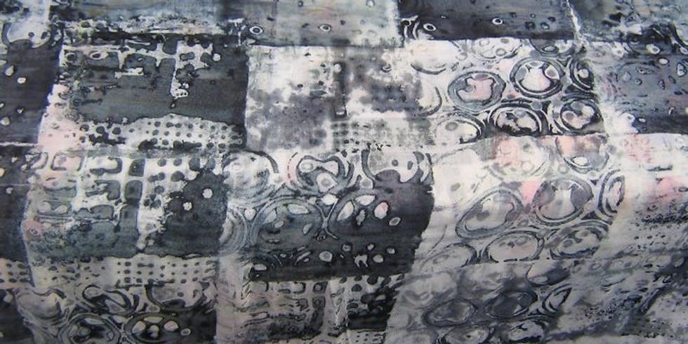 Breakdown printing on Fabric and Felt
