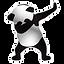 stock-vector-panda-dab-vector-logo-10357