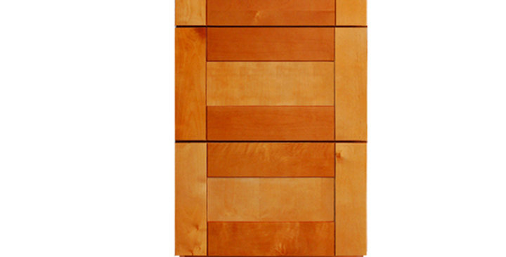 Honey Spice Drawer Base Cabinet 12-24