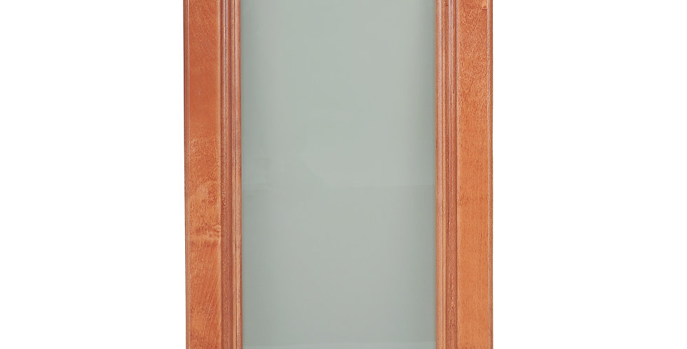 Wine Maple Glass Door (Single Door)