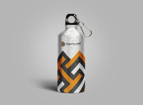 Aluminum Water Bottle Mockup Free PSD.jp